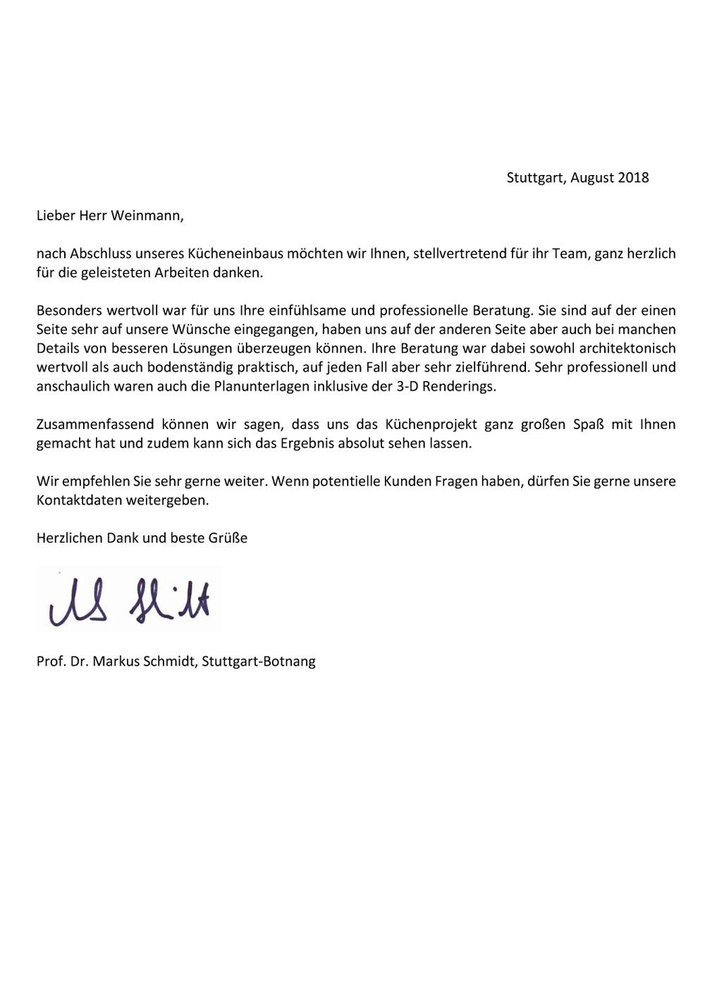 Referenzen | KüchenHaus Basler Filderstadt-Bernhausen Küchen ...